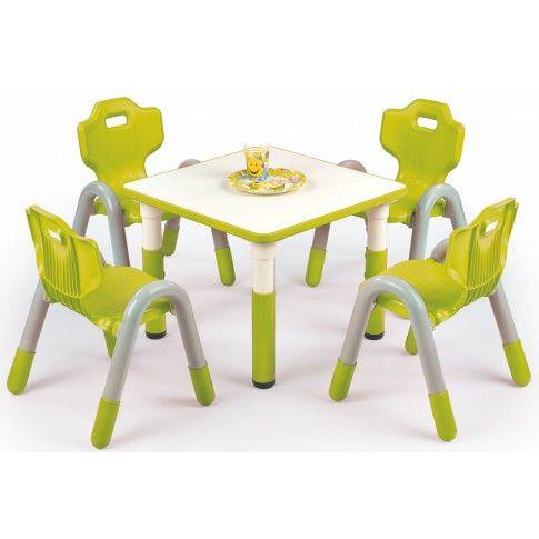 Zdjęcie produktu Regulowany stolik dziecięcy Hipper - zielony.