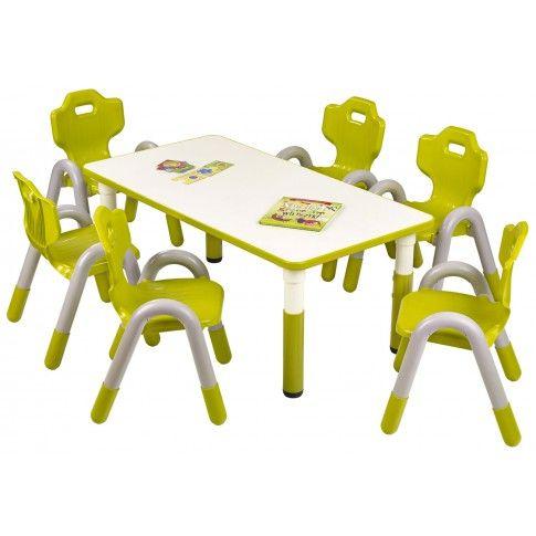 Zdjęcie produktu Regulowany stolik dziecięcy Hipper 2X - zielony.