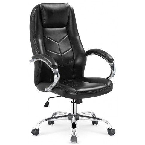 Zdjęcie produktu Fotel obrotowy Waldon - czarny.