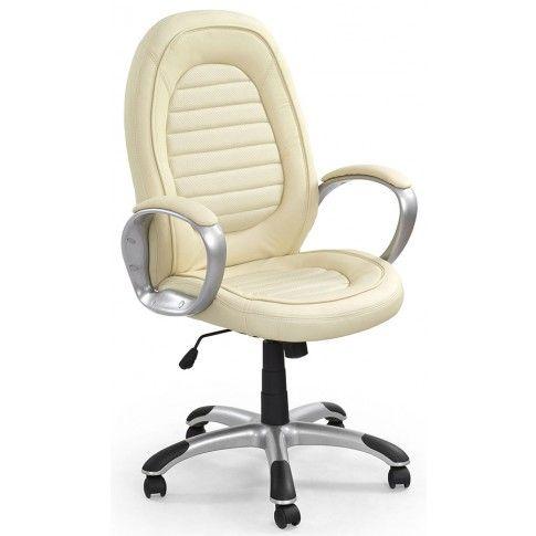 Zdjęcie produktu Fotel obrotowy Caliner - kremowy.