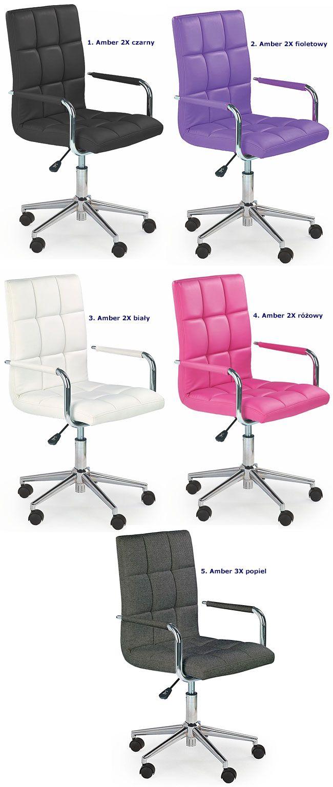 Krzesło obrotowe dla dziecka do biurka Amber 2X