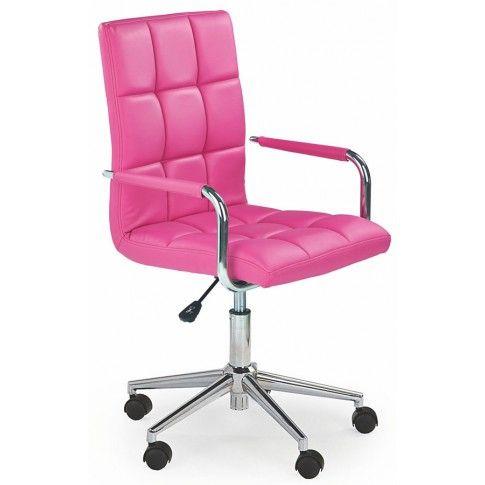 Zdjęcie produktu Obrotowy fotel dla dziewczynki Amber 2X - różowy.