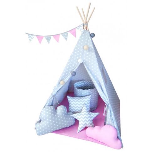 Dziecięcy namiot tipi Somit z czterema poduszkami