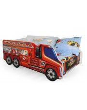 Łóżko wóz strażacki Defires