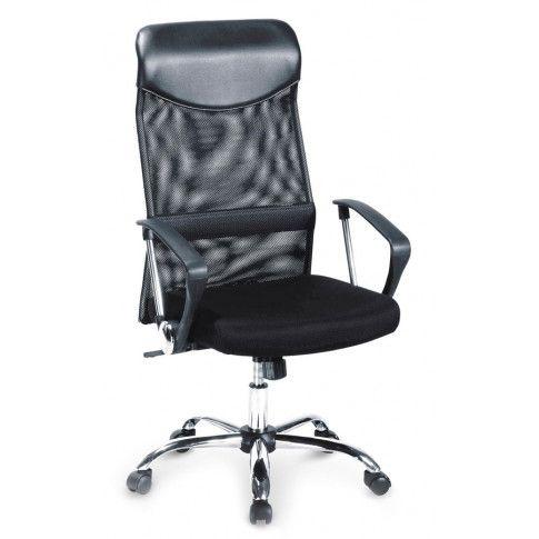 Zdjęcie produktu Fotel obrotowy Vespan - Czarny.