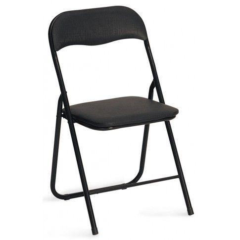 Zdjęcie produktu Składane krzesło konferencyjne Arman - czarne.
