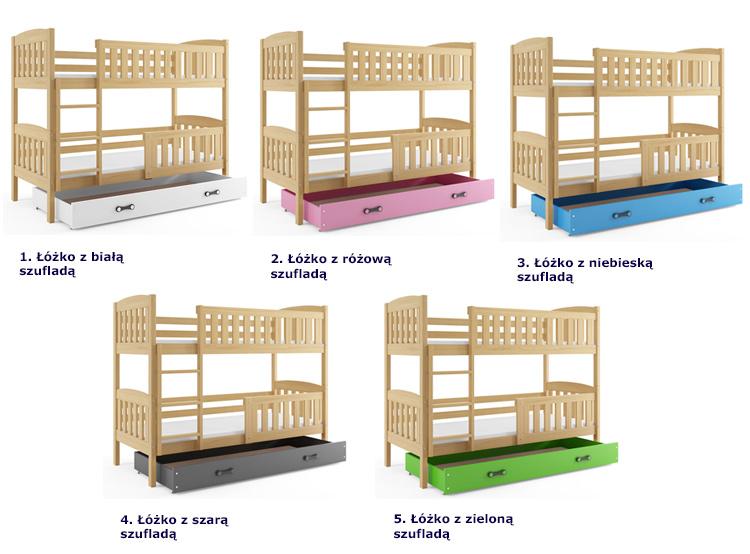 Kolory łóżek Celinda 2X
