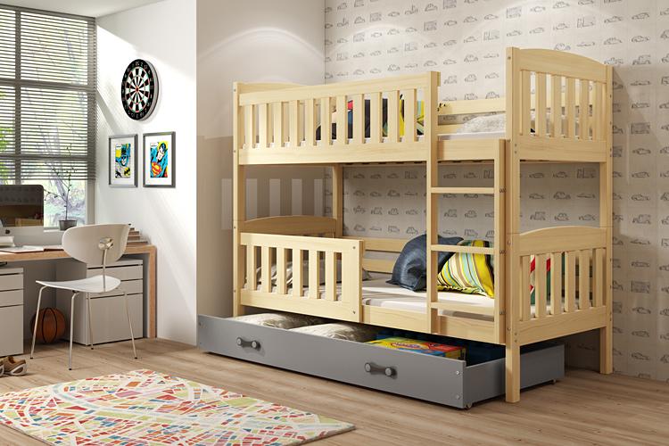 Wizualizacja łóżka piętrowego Celinda
