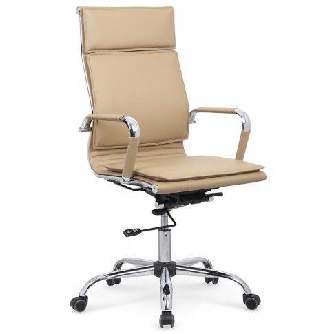 Zdjęcie produktu Fotel obrotowy Parker - beżowy.