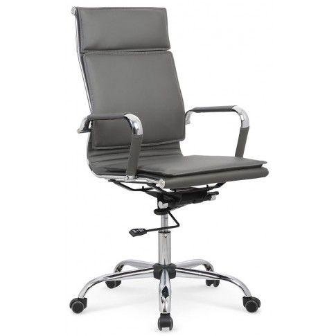 Zdjęcie produktu Fotel obrotowy Parker - popielaty.