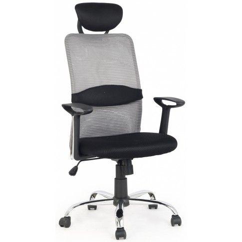 Zdjęcie produktu Fotel obrotowy Bonar - popielaty.
