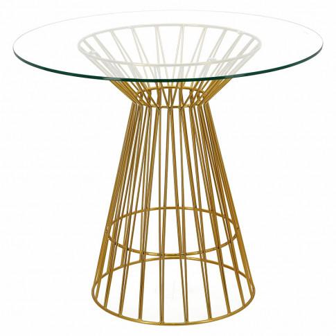 Szklany stół Sakam glamour