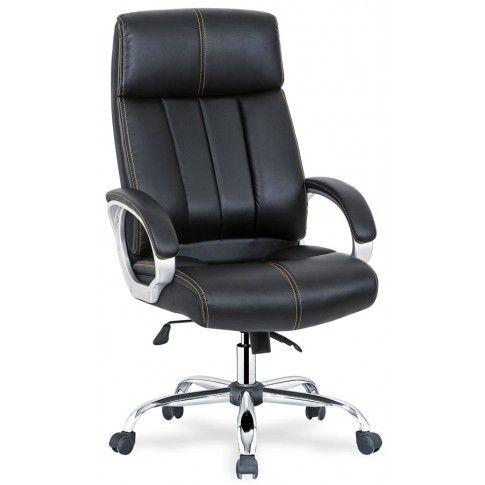 Zdjęcie produktu Fotel obrotowy Ledis - czarny.
