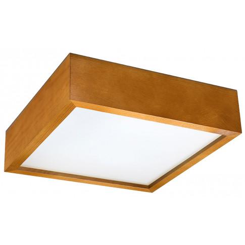 Drewniany kwadratowy plafon EXX217-Madesa
