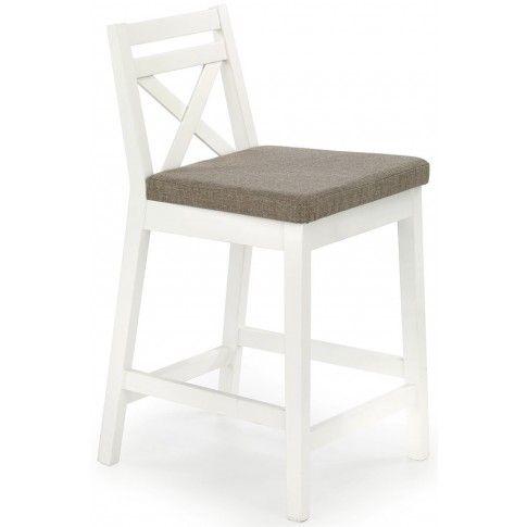 Zdjęcie produktu Krzesło barowe Lidan - białe.