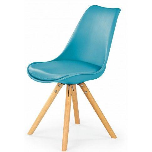 Zdjęcie produktu Krzesło w stylu skandynawskim Depare - turkusowe.