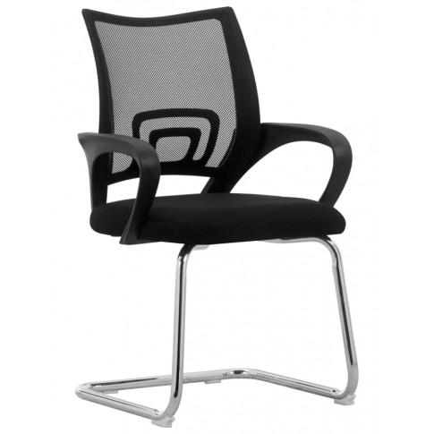 Czarne krzesło Merti