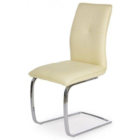 Zdjęcie produktu Krzesło na sprężynach Onter - kremowe.