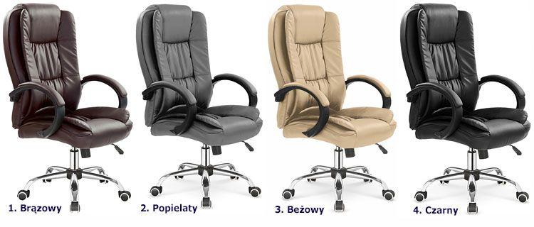 Tapicerowane krzesło obrotowe do biura Ariel