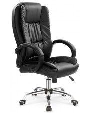Biurowy fotel obrotowy Ariel - czarny