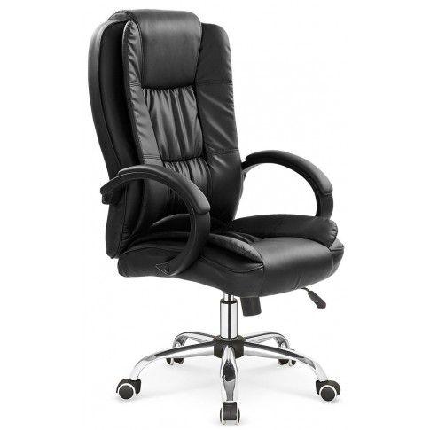 Zdjęcie produktu Ergonomiczny fotel obrotowy Ariel - czarny.