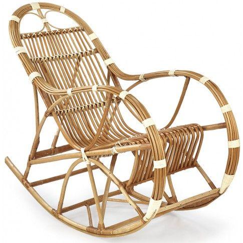 Zdjęcie produktu Wiklinowy fotel bujany Ulmer.