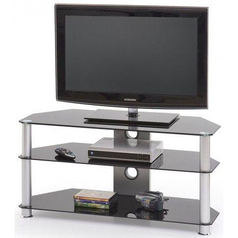 Zdjęcie produktu Aluminiowy stolik RTV Silvo - czarny.