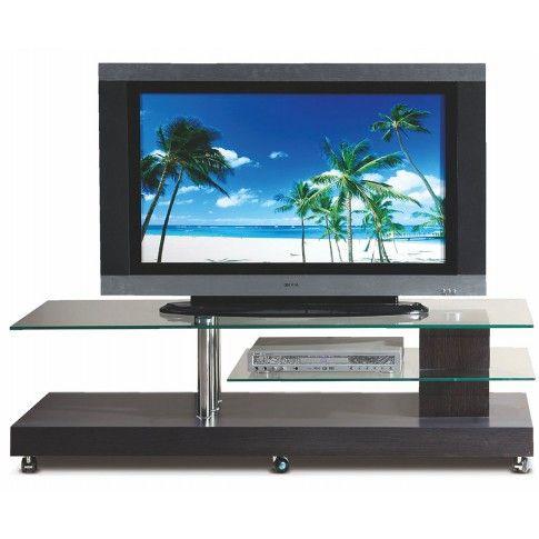 Zdjęcie produktu Stolik na kółkach pod telewizor Ventis - wenge.