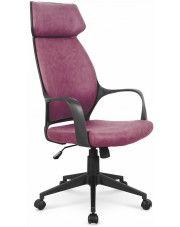 Fotel obrotowy Lexor - różowy