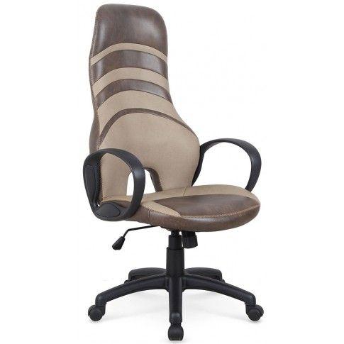 Zdjęcie produktu Fotel obrotowy Daster - brąz + beż.