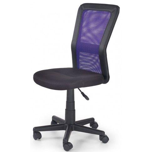 Zdjęcie produktu Młodzieżowy fotel obrotowy Fargo - fioletowy.