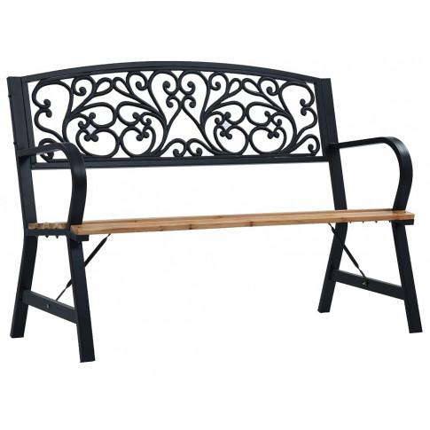 Klasyczna ławka ogrodowa Nelda