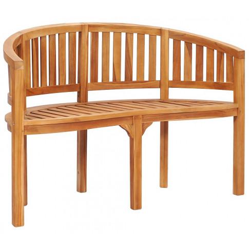 Drewniana ławka ogrodowa Claire 2X