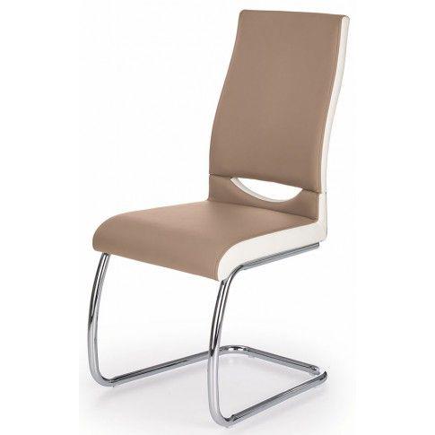 Zdjęcie produktu Krzesło tapicerowane Driven - cappuccino.