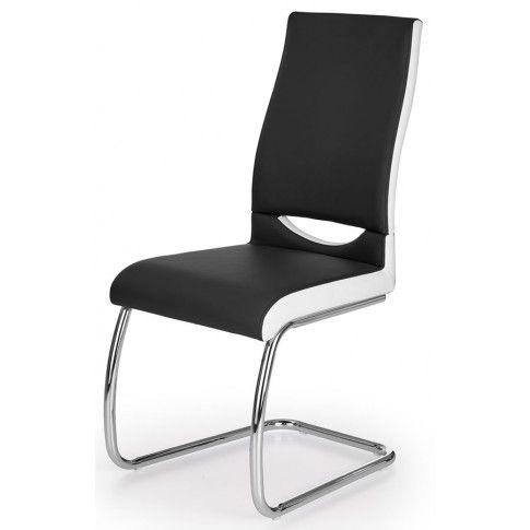 Zdjęcie produktu Krzesło tapicerowane Driven - czarne.