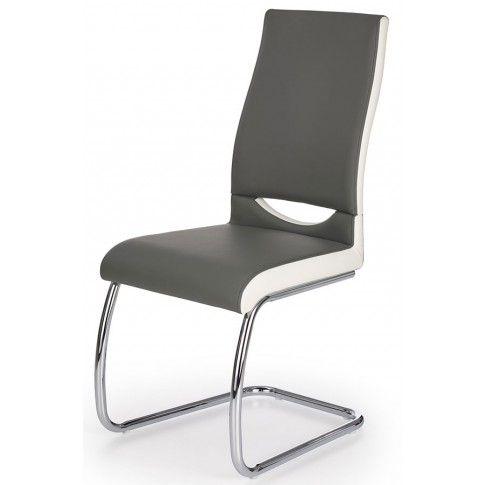 Zdjęcie produktu Krzesło tapicerowane Driven - popielate.