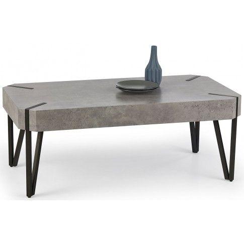 Zdjęcie produktu Industrialna ława Lisa - beton.