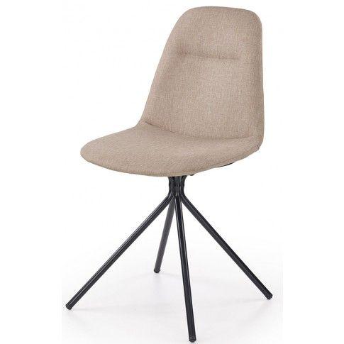 Zdjęcie produktu Krzesło tapicerowane Olsen - beżowe.