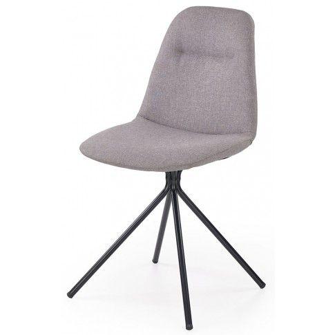 Zdjęcie produktu Krzesło tapicerowane Olsen - popielate.