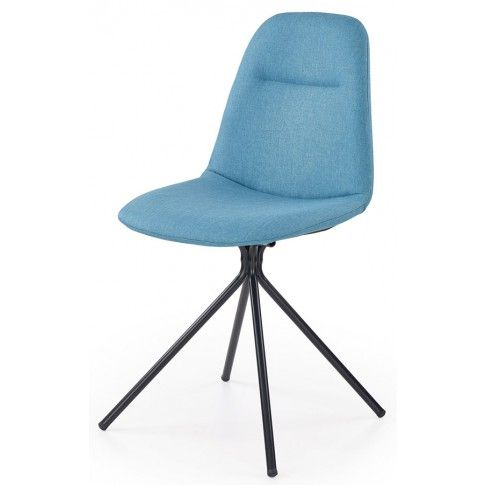 Zdjęcie produktu Krzesło tapicerowane Olsen - turkusowe.