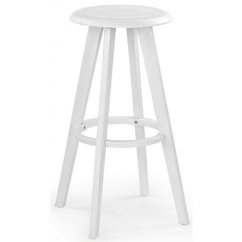 Zdjęcie produktu Okrągły hoker Ordon - biały.