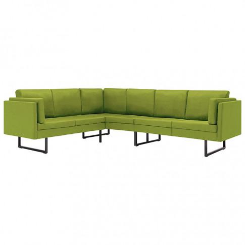 sofa narozna sirena zielona