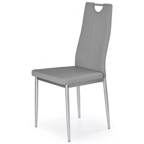 Zdjęcie produktu Krzesło tapicerowane Vulpin - popielate.