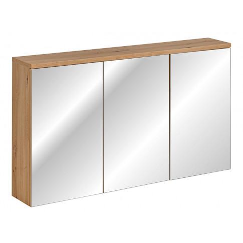 Wisząca szafka łazienkowa z lustrem Belissa 6X 90 cm
