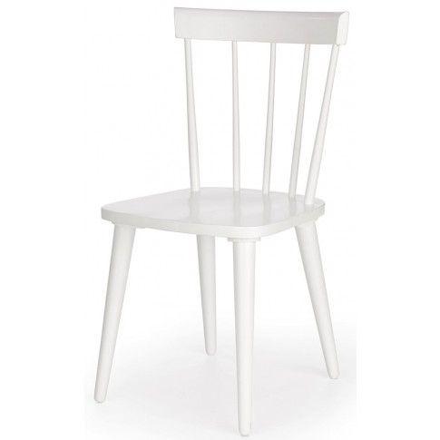 Zdjęcie produktu Skandynawskie krzesło patyczak Ulvin - białe.