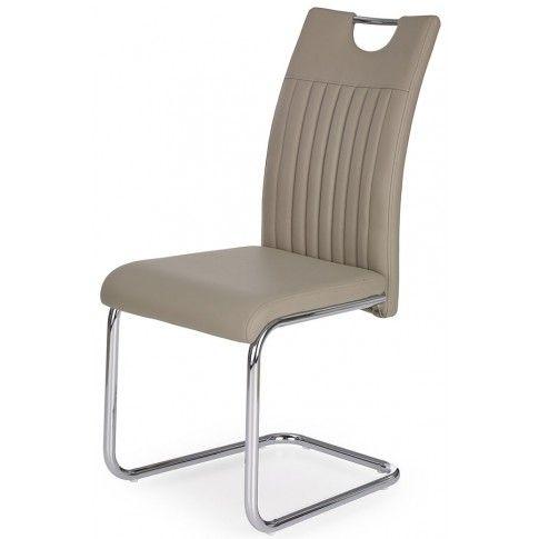 Zdjęcie produktu Krzesło tapicerowane Noxin - cappuccino.