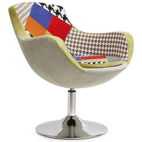 Zdjęcie produktu Fotel wypoczynkowy Orion - patchwork.