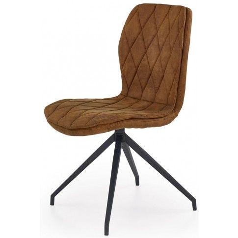 Zdjęcie produktu Krzesło industrialne Gimer - brązowe.