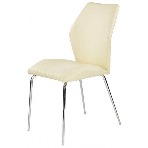 Zdjęcie produktu Krzesło profilowane Tilon - kremowe.