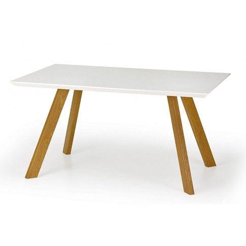 Zdjęcie produktu Stół Dorin - biały połysk.